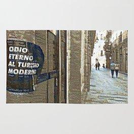 Barcelona digital street photography + Dreamscope Rug