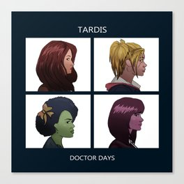 Doctor Days Canvas Print