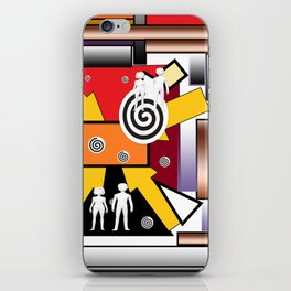 Couples in rythmos iPhone Skin