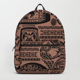 Maui Tattoos Inspired Moana Backpack