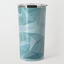 Winter geometric style - minimalist Travel Mug