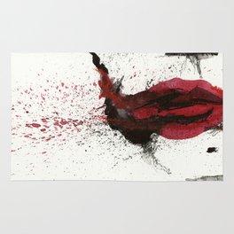 Joker TDK - Heath Ledger Watercolor Splatter Artwork Rug