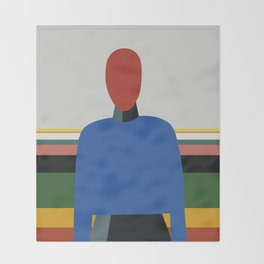 MANWOMAN Throw Blanket