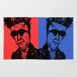 David Lynch Twins Rug