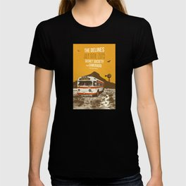 THE DELINES - July 10th, 2015 @ Secret Society, Portland, OR T-shirt