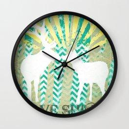Love Shines Wall Clock