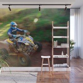 ATV offroad racing Wall Mural