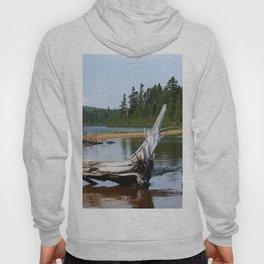 Peacefull Lake in Canada Hoody