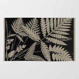 New England Ferns Rug