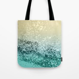 Lemon Twist Beach Glitter #2 #shiny #decor #art #society6 Tote Bag