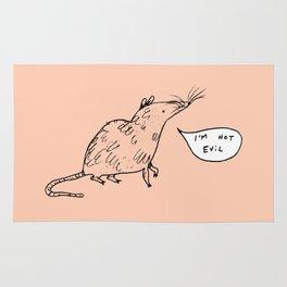 Rats Aren't Evil Rug