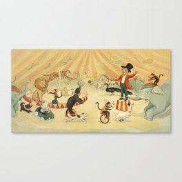 The Circus Dream by Emily Winfield Martin Canvas Print