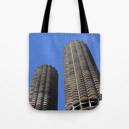 marina city // wilco towers Tote Bag