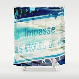 Etoiles De Mer Shower Curtain