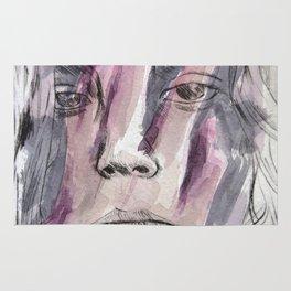 Hands watercolor Rug