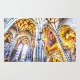 St Stephens Cathedral Vienna Art Rug