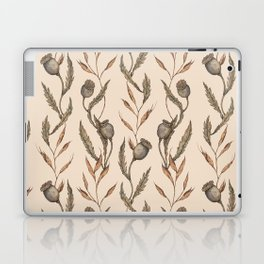 Poppy Pod Pattern Laptop & iPad Skin