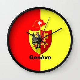 Geneve City of Zwitzerland Wall Clock