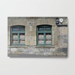 Drive-through Edinburgh Metal Print