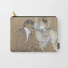 "Henri de Toulouse-Lautrec ""Lucien Guitry et Jeanne Grânier"" Carry-All Pouch"