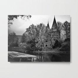 Medieval Gate-Lubeck, Germany Metal Print