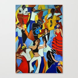 SALSA SAUVAGE Canvas Print