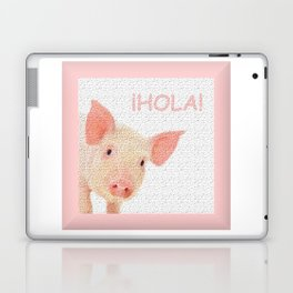 Hola! Hello! Laptop & iPad Skin