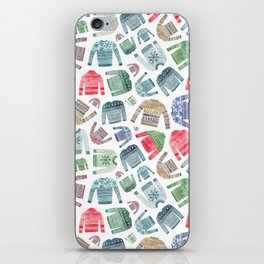 Christmas Jumpers! iPhone Skin