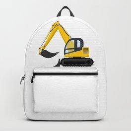 Yellow Excavator Backpack