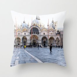 Venezia, San Marco Throw Pillow
