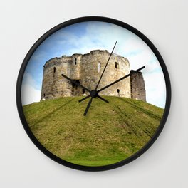Clifford's Tower - York Wall Clock