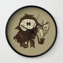 Puzzle Solved Wall Clock