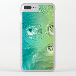 water movement Clear iPhone Case