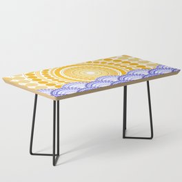 LIGHT OF DAWN (abstract tropical) Coffee Table