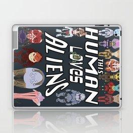 Aliens LOVE Laptop & iPad Skin