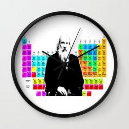 Mendeleev & Periodic Table Wall Clock