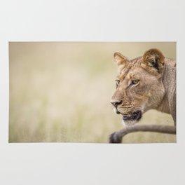 Half a Lion Rug