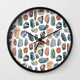 Sea stones Wall Clock