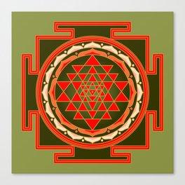 Sri Yantra Canvas Print