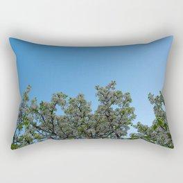 sky blossoms Rectangular Pillow
