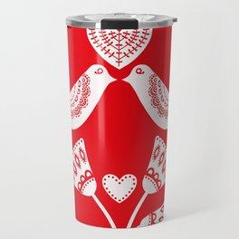 Scandinavian Christmas 01 Travel Mug