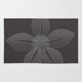 Cute Sheer Jasmin Flower Rug