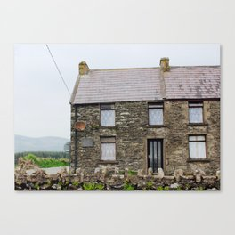 House - Dingle Peninsula, Kerry, Ireland Canvas Print