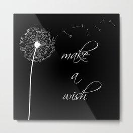Make a wish - inverted Metal Print