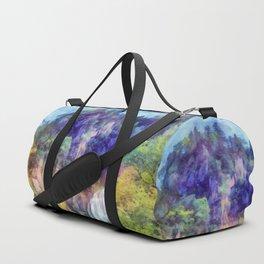 Mountain waterfall Duffle Bag