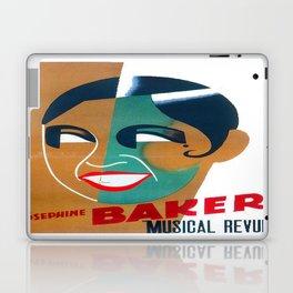 Josephine Baker Vintage Poster for Stockholm Laptop & iPad Skin