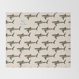 Silky Shark Throw Blanket
