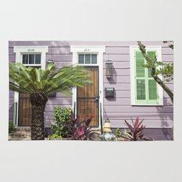 New Orleans Marigny Purple House Rug