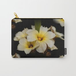 Yellow Mexican Satin Flowers Carry-All Pouch