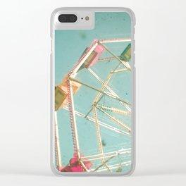 Big Wheel Clear iPhone Case